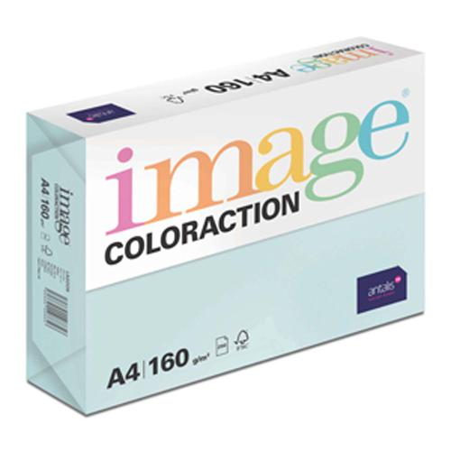 Image Coloraction Lagoon FSC Mix Credit A4 210x297  mm 160Gm2 210Mic Pale Blue Pack of 250