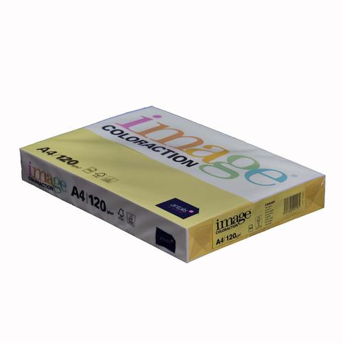 Image Coloraction Copier A4 120gsm Dark Yellow (Sevilla) 89345 [Pack 250]
