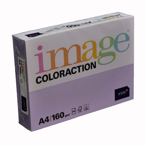 Image Coloraction Tundra FSC Mix Credit A4 210x297  mm 160Gm2 210Mic Mid Lilac Pack of 250