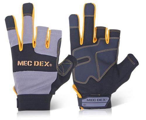 Mec Dex - Work Passion Tool Mechanics Glove Lg Pk6
