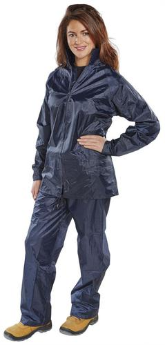 B-Dri Weather-Proof - Nylon B-Dri Suit Navy Xxxl