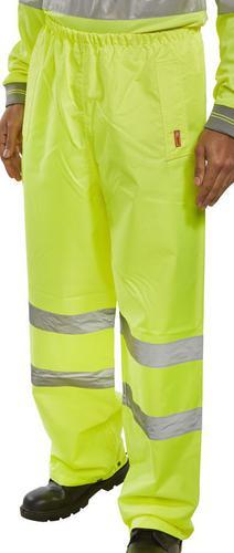 Sat/Yellow Xxl - Bseen Trousers En Iso20471