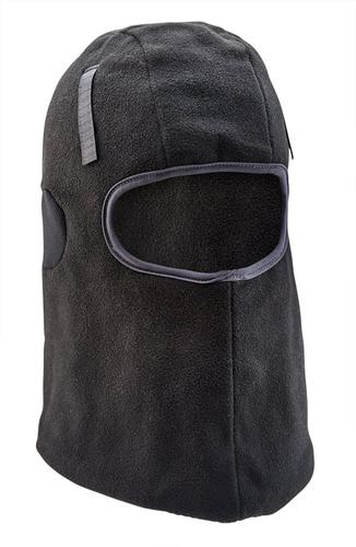 Thinsulate Lined Black With Hook & Loop - Balaclav a