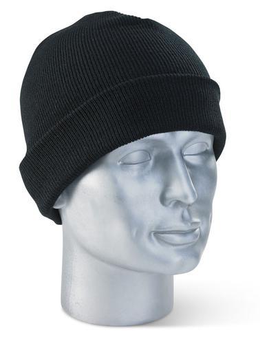 Click Knitwear - Watch (Beenie) Hat Black Pk10