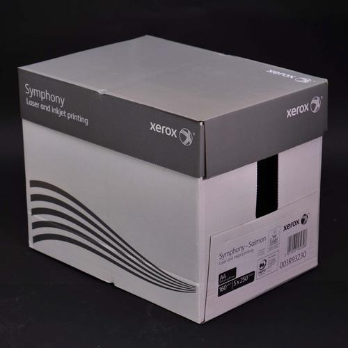 Xerox Symphony PEFC2 A4 210x297 mm 160Gm2 Pastel S almon Pack of 250 003R93230