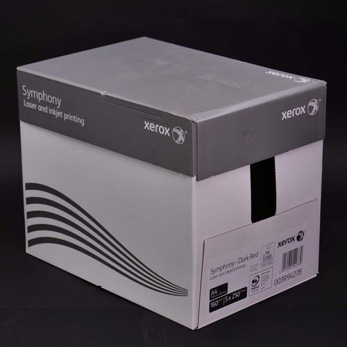 Xerox Symphony PEFC2 A4 210x297 mm 160Gm2 Strong D ark Red Pack of 250 003R94278