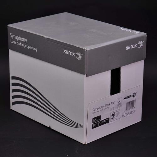 Xerox Symphony PEFC2 A4 210x297 mm 80Gm2 Strong Da rk Red Pack of 500 003R93954