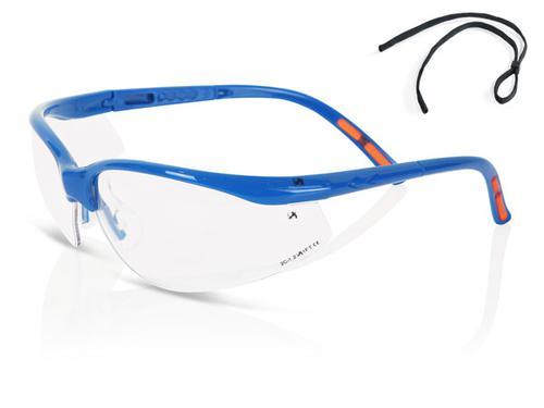 B-Brand Eyewear Range - Clear Lens Safety Spectacl e