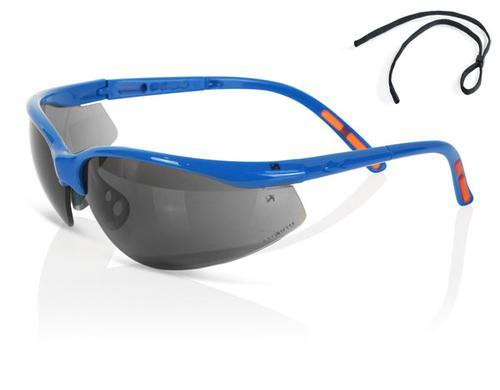 B-Brand Eyewear Range - Grey Lens Safety Spectacle
