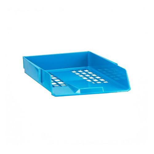 Avery 1132BLUE Basics Letter Tray, 278 x 70 x 390 mm