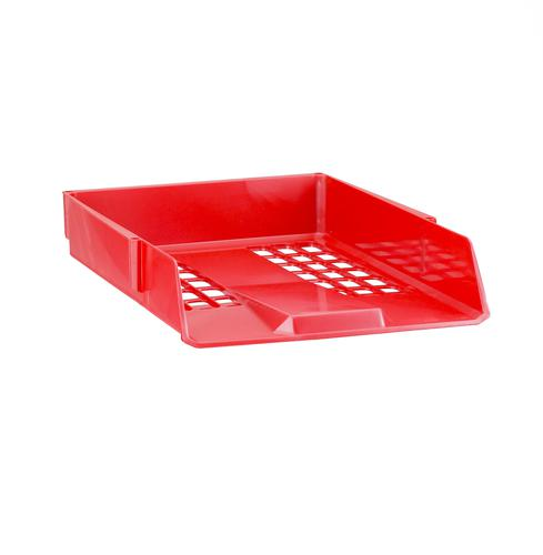 Avery 1132RED Basics Letter Tray, 278 x 70 x 390 mm