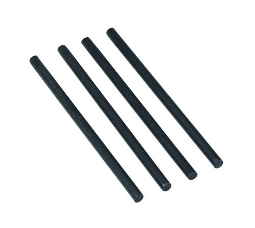 Avery Plated Riser Rods Black 404B-118 (PK4)