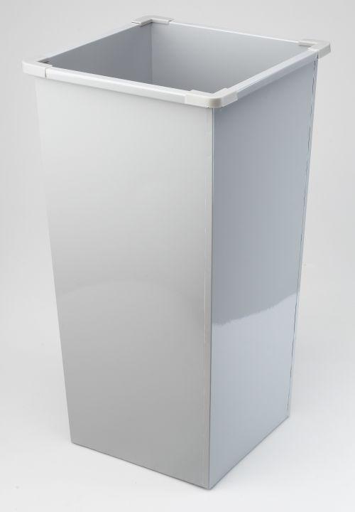 Avery 633GREY Metal Bins (48 Litre); 331 x 630 x 331 mm