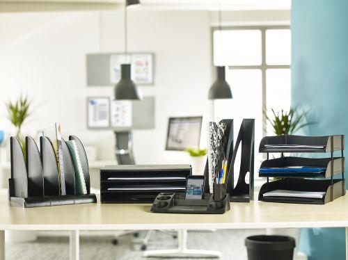 Avery DTR Eco Desk Tidy 270 x 55.0 x 152mm Black DR400BLK