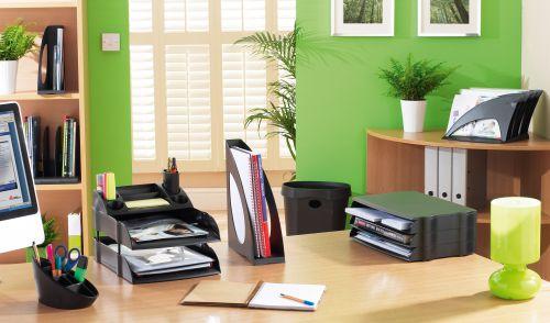Avery Desktop Range Eco Pen Pot Black DR450BLK