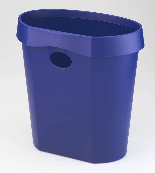 Avery DR500BLUE DTR Eco Waste Bin (18Litre); 350 x 340 x 250 mm