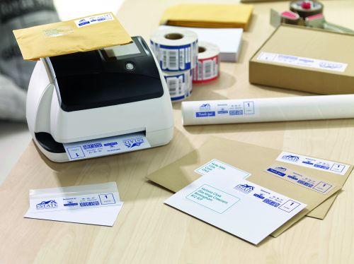 Avery FL08 Frank Labels 155x40 White Pack 2x500 Franking Machine Supplies LA1401