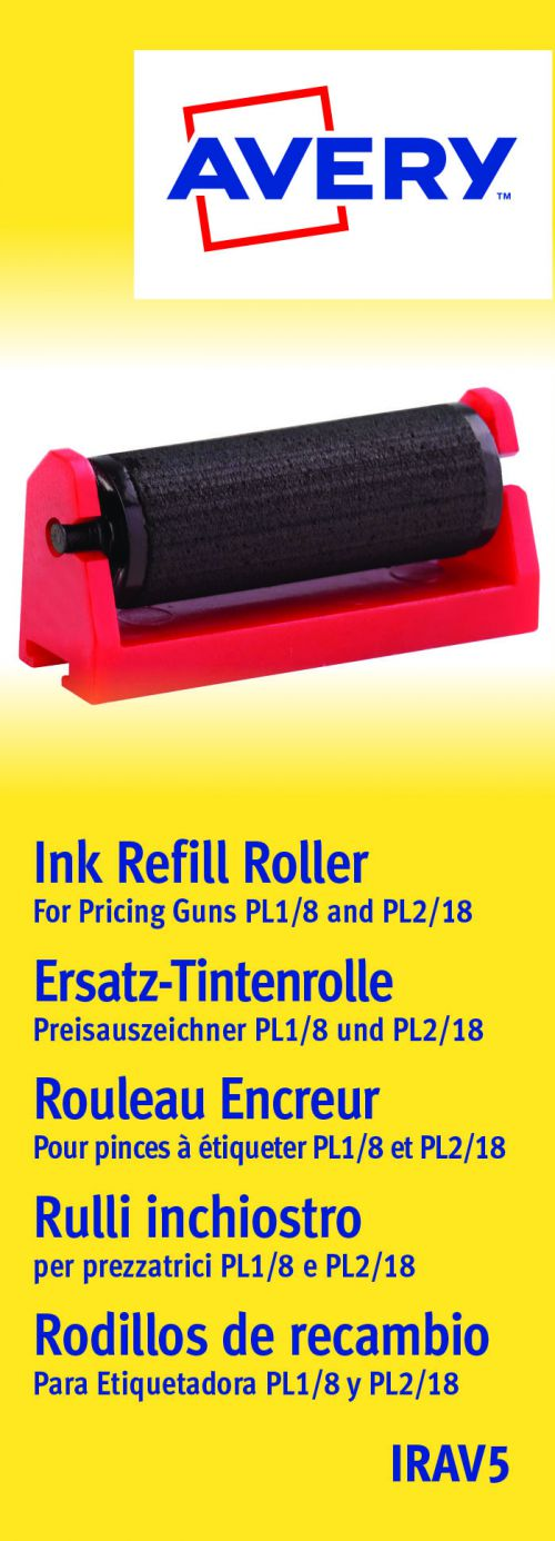 Avery Pricing Gun Ink Refill Ref IRAV5 [Pack 5]