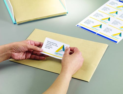Avery Parcel Labels BlockOut Laser Jam-free 8 per Sheet 99 1