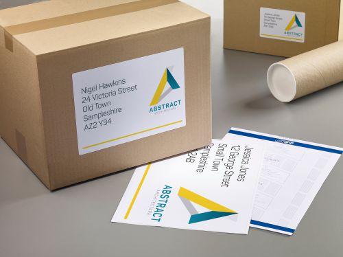 Avery L7167-40 Parcel Labels, 199.6 x 289.1 mm, Permanent, 1 Label Per Sheet, 40 Labels Per Pack