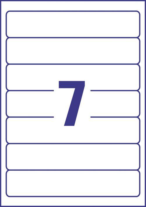 Avery Recycled Filing Labels 7 Per Sheet 700 Labels File Spine Labels 46400AV