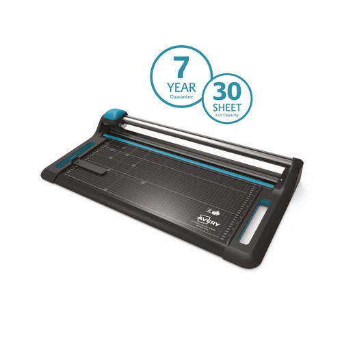 Avery Precision Trimmer A2 Cutting Length 640mm Black/Teal P640