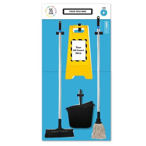 Modulean - Cleaning Board XL - Blue