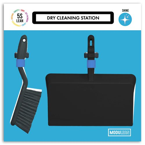 Modulean Lite - Dry Cleaning Board - H.500 x W.500 - Green
