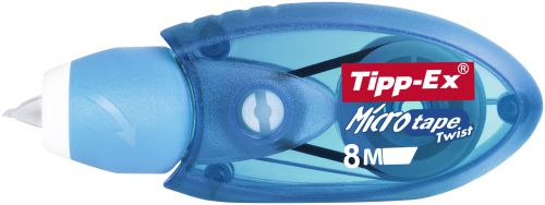 Tipp-Ex Micro Tape Twist 8m Correction Tape Blue PK10