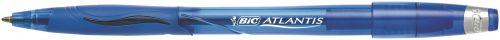 Bic Atlantis Stic Broad Cushion Grip Ballpoint Pen BL PK12