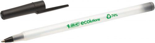 Bic ECOlutions Ballpoint Pen Medium Black (Pack of 60) 893239