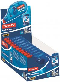 Tipp-Ex Pocket Mouse Correction Tape (Pack of 10) 820789