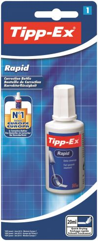 Tipp-Ex White Rapid Correction Fluid 20ml 8871592