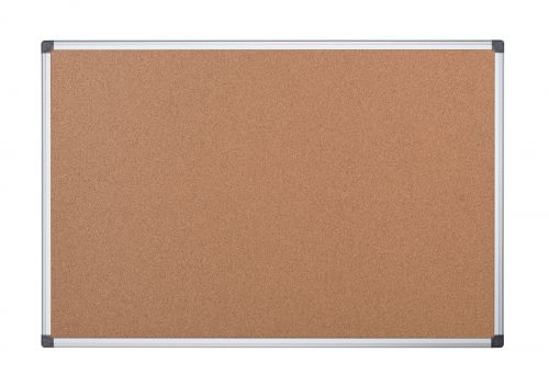 Bi Office Cork Noticeboard 2 Sided 900 x 900mm