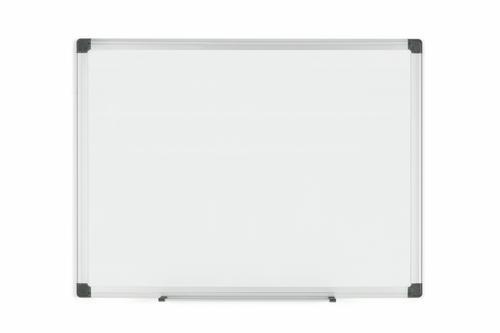 Bi-Office Maya Magnetic Enamel Whiteboard Aluminium Frame 600x450mm