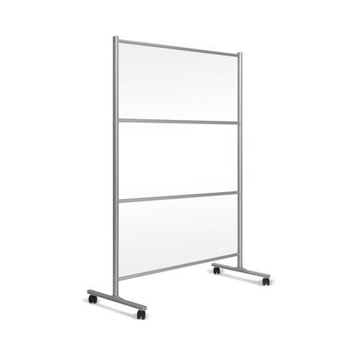 Bi-Office Mobile Stand W/ Glass Panel 1200x1800