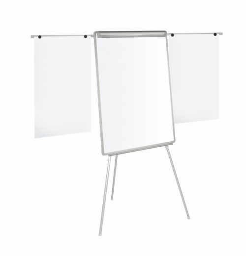 Bi-Office Easy Flipchart Easel A1 White (Extendable arms for extra pages) EA4600046