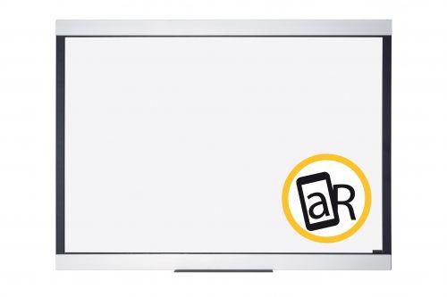 Bi-Office Expression Premium Magnetic Ceramic Whiteboard Aluminium Frame 1200x900mm
