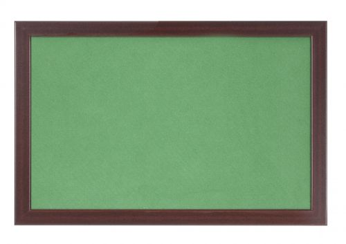 Bi-Office Earth-It Green Felt 60x90cm Cherry Wood 32 mm