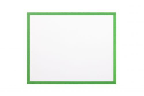 Bi Office Adhesive Document Holder Green A3