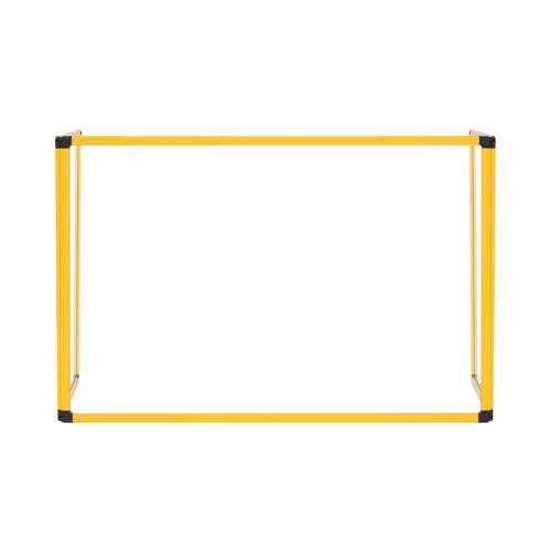 Bi-Office Trio Transparent Board 900mm 1200x900Yw Alu Frm