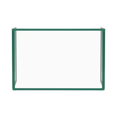 Bi-Office Trio Glass Board 900mm 1200x900Gn Alu Frm