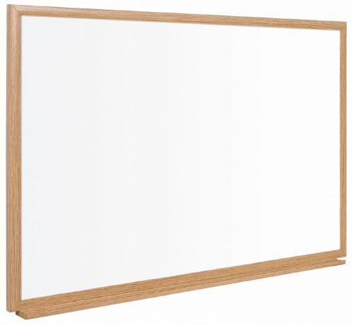 Bi-Office Earth-It drywipe 60x90cm Oak Frame Executive