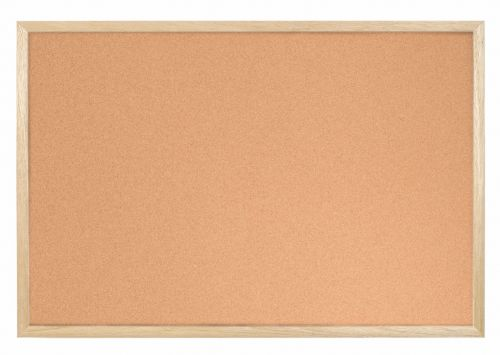 Bi-Office Cork Board 90x60cm