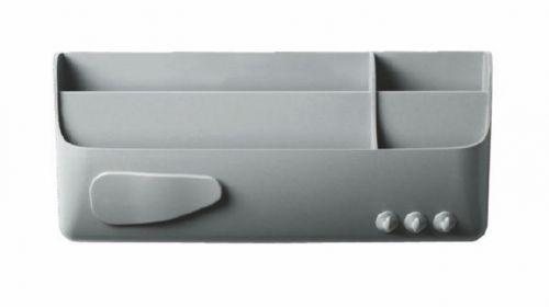 Bi-Office Magnetic Smart Accessory Box Grey
