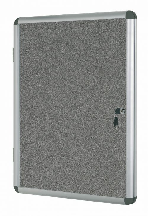 Bi-Office Internal Display Case 600x900mm Grey VT630103150