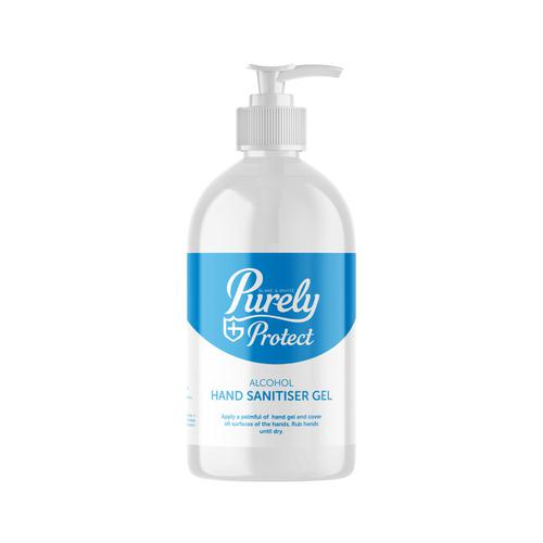Purely Protect Hand Sanitiser 250ml Pump Top
