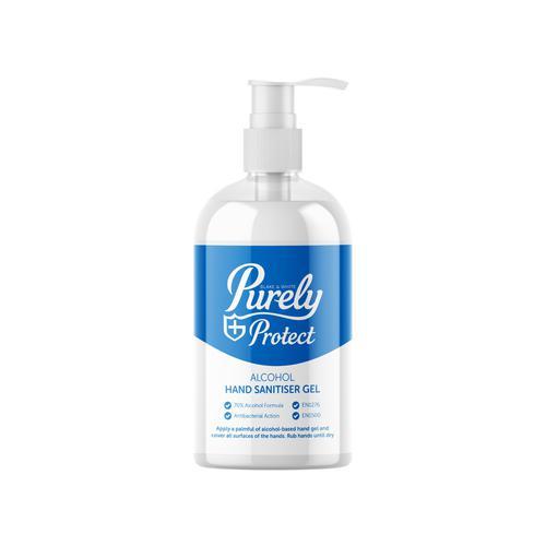 Hand Sanitiser 70% 500ml Pump Top