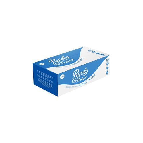 Nitrile Gloves Blue Large Box of 100