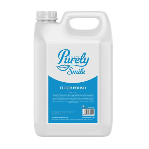 Purely Smile Floor Polish 5 Litre